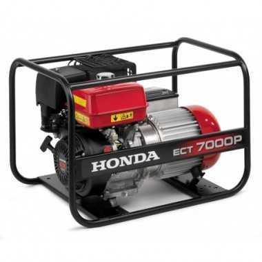 ECT 7000 P Generador Honda Polivalente