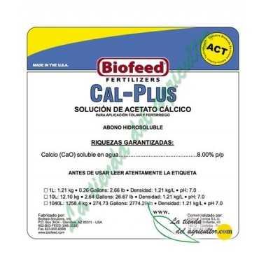 CAL PLUS 0-0-0 + 8% (1 Litro)