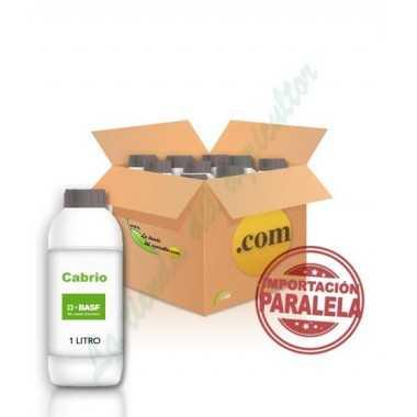 CABRIO-Piraclostrobin 25% EN 10 LITROS (CAJAS 10X1)
