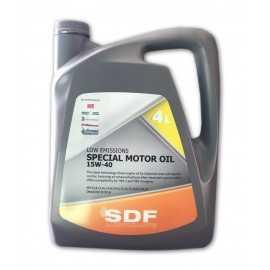 Aceite SDF Special Motor 15W40 en 4 Litros