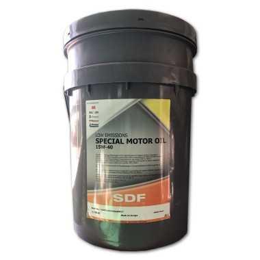 Aceite SDF Special Motor 15W40 en 20 Litros
