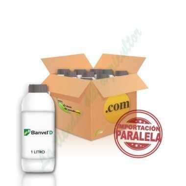 BANVEL-Dicamba 48% sal dimetilamina en 10 LITROS (CAJAS 10X1)