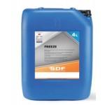 Líquido Refrigerante y Anticongelante SDF Freeze en 4 Litros