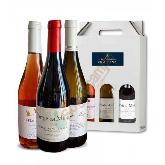 Pack 3 Vinos (Blanco, Tinto y Rosado)