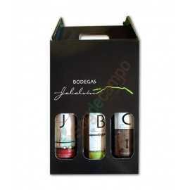Pack 3 Vinos (Rosado, Tinto C-Cerrojo y Tinto J-Joven)