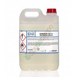 Gel Hidroalcohólico de manos en 20 Litros (1 Caja de 4X5 Litros)