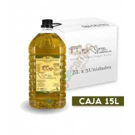Aceite de Oliva Virgen Extra en Cajas de 3x5 Litros