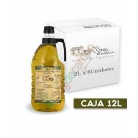 Aceite de Oliva Virgen Extra en Cajas de 6x2 Litros