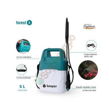 Pulverizador Eléctrico KEEPER Forest 5