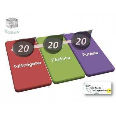 ABONO SOLIDO LTA 20-20-20 (10 Kg) - Equilibrado
