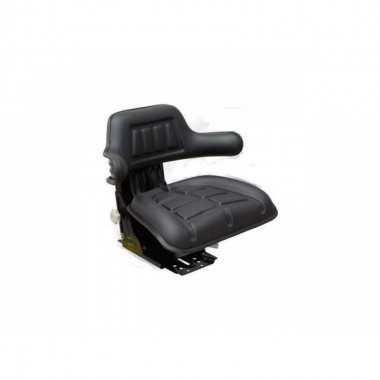 Asiento Tractor PVC negro